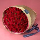 100本の赤バラの花束「アニバーサリーローズ」