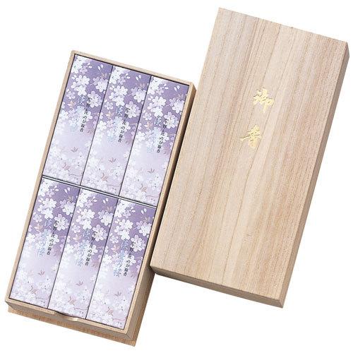 【お供え用】日本香堂「宇野千代のお線香 淡墨の桜」