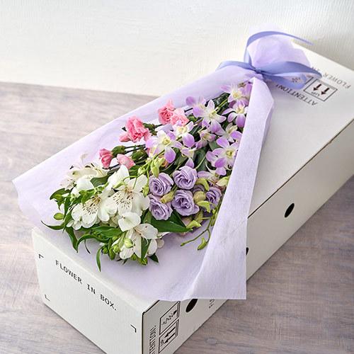 【お供え用】ボックスフラワー「花はるか」