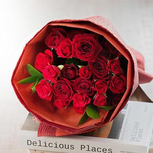 花束「ローズレッド」の商品画像