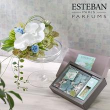 香りを楽しむギフト ESTEBAN「オルキデ ブランシュ」とアロマディッシャーのセット
