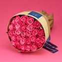 30本のピンクバラの花束「アニバーサリーローズ」