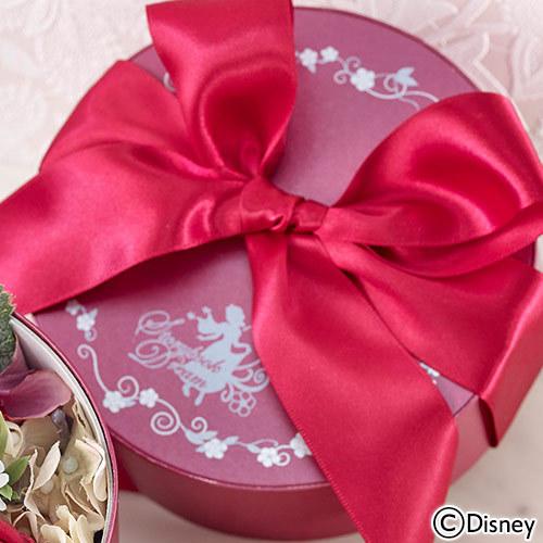 ディズニー アーティフィシャルアレンジメント「プリンセスボックス(白雪姫)」