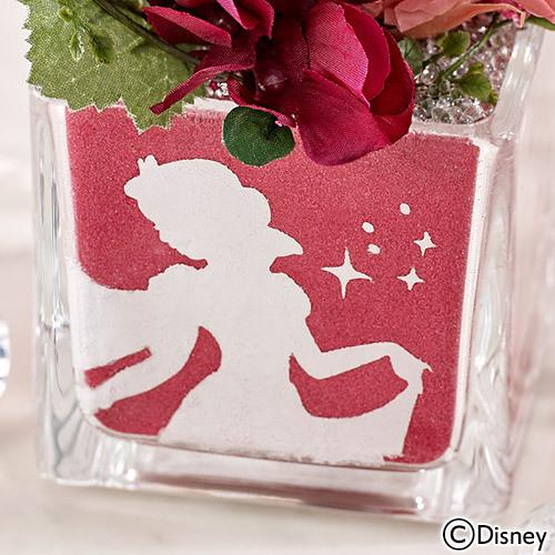 ディズニー カラーサンド プリザーブドフラワー 「白雪姫」