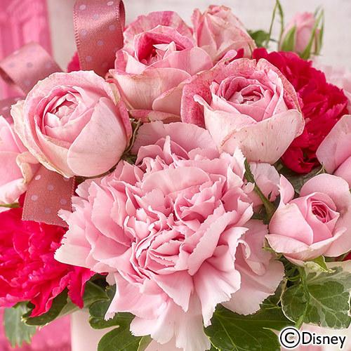 ディズニー アレンジメント「Love Love Pink(ミッキー&ミニー)」