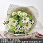 花束Mサイズ(グリーン・ホワイト系)