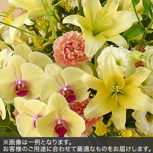 アレンジメントLLサイズ(イエロー・オレンジ系)