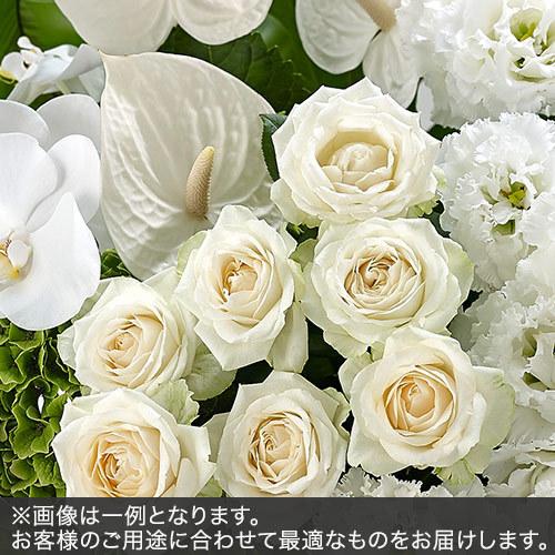 アレンジメントLLサイズ(グリーン・ホワイト系)