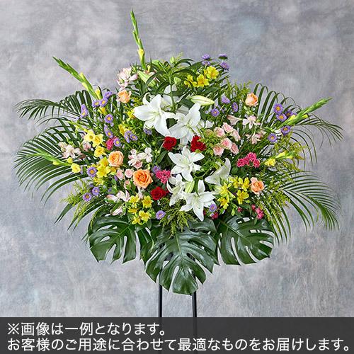 1段スタンド花Mサイズ(色おまかせMIX)
