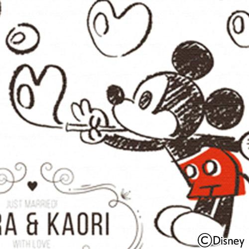 ディズニー ウェルカムボード「ハートのしゃぼん玉」(ミッキー&ミニー)