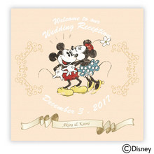 ディズニー ウェルカムボード「ずっと大好き!」(ミッキー&ミニー)