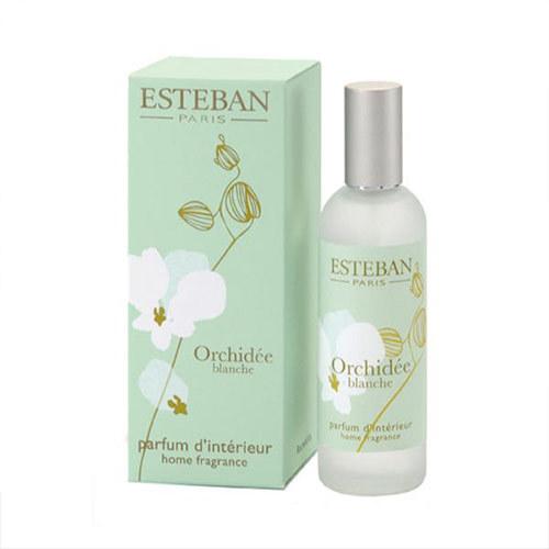 香りを楽しむギフト ESTEBAN「オルキデ ブランシュ ルームスプレー」とアーティフィシャルフラワーのセット