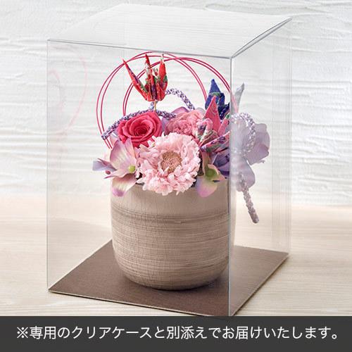 プリザーブド&アーティフィシャルアレンジメント「鶴の舞」