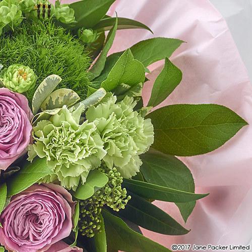 JANE PACKER 花束「グリーントレジャー(ピンク)」