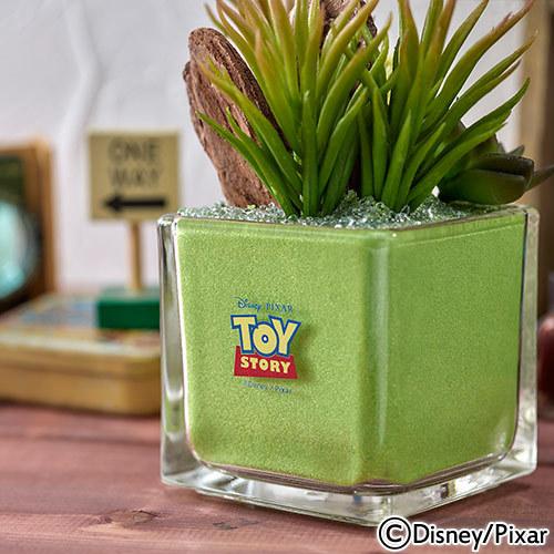 ディズニー カラーサンド アーティフィシャル 多肉植物 寄せ植えアレンジメント 「TOY STORY」