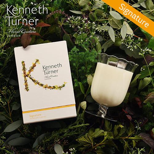 Kenneth Turner「ステムベースキャンドル(シグネチャー)」