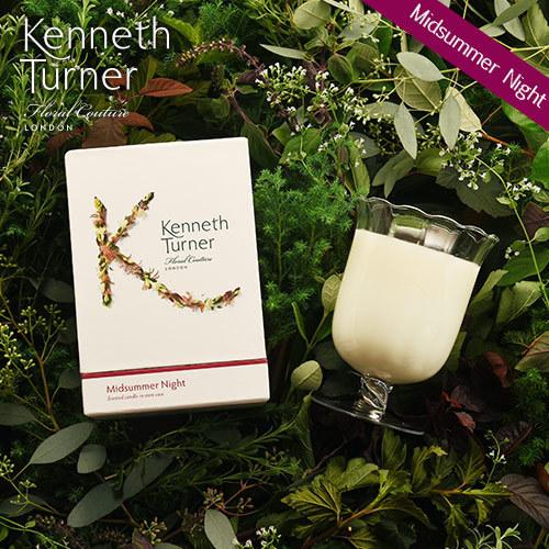 Kenneth Turner「ステムベースキャンドル(ミッドサマーナイト)」