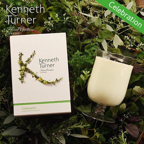 Kenneth Turner「ブーケベースキャンドル(セレブレーション)」
