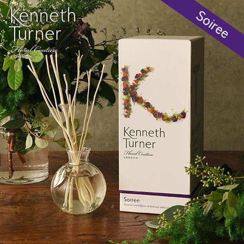 Kenneth Turner「ナチュラル ラタン リードディフューザー(ソワレ)」