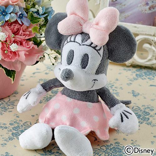 ディズニー「ミニーマウス 音入りぬいぐるみとアレンジメントのセット」