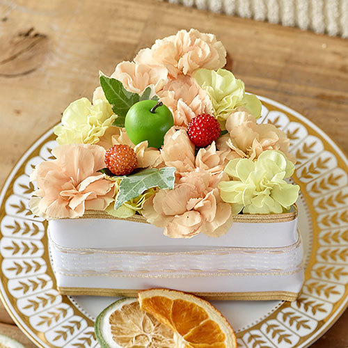 フラワーパティシエ「スイートベリー&アップルオレンジ」