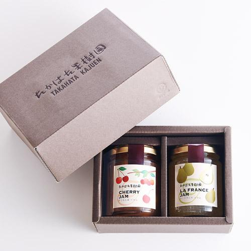 花紀行山形「たかはた果樹園フルーツジャム」とバラ10本のセット
