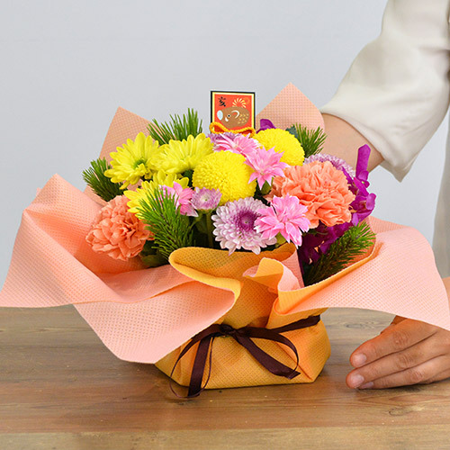 お正月 アレンジメント「春陽」