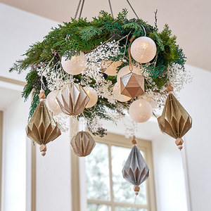 デザイナーズ クリスマスフラワーシャンデリア「ルミエール」の商品画像