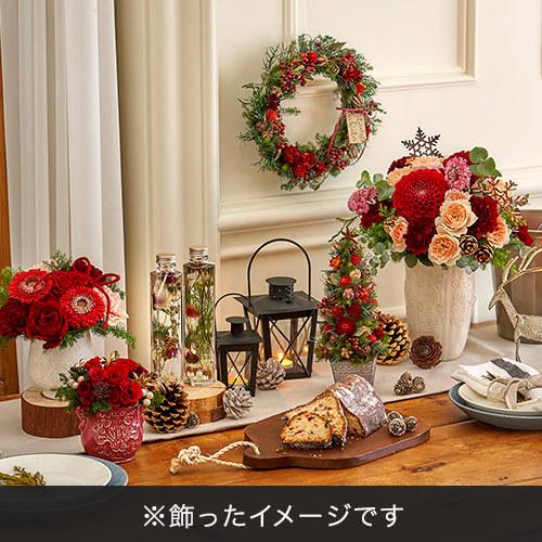 クリスマス ドライツリー「ツリー ド ルージュ」