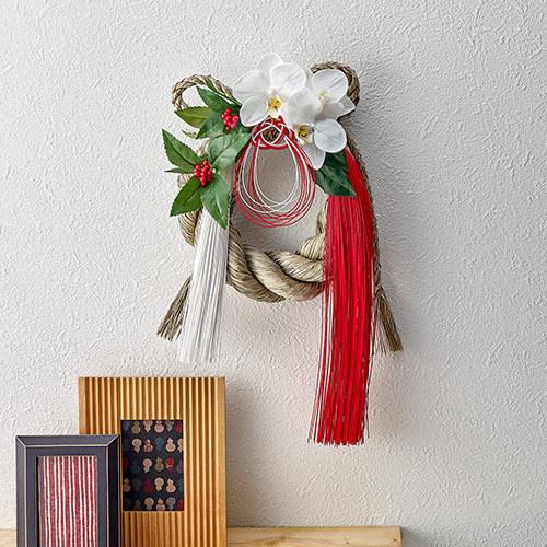 お正月 しめ飾り「蘭華」