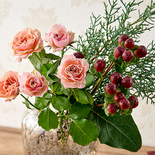 旬の花材「バラ」