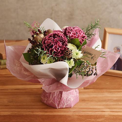 【お供え用】O・SO・NA・E flower 「12月のそのまま飾れるブーケ」