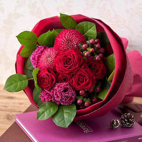 花束「ルージュビジュー」