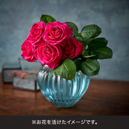 【12/15-16お届け】バイヤーズセレクト「クニエダさんのバラ」ダークピンク系