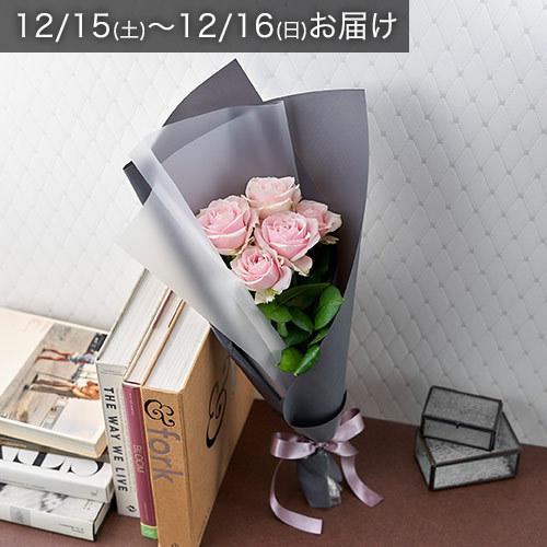 【12/15-16お届け】バイヤーズセレクト「クニエダさんのバラ」ライトピンク系