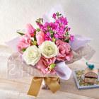 そのまま飾れるブーケ「1月に贈る花言葉」