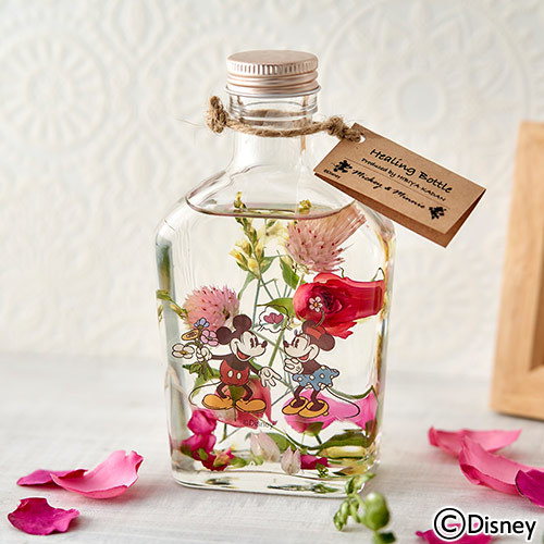 ディズニー Healing Bottle〜Disney collection〜「ミッキー&ミニー」【沖縄届不可】
