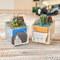 ゲゲゲのお花 サンドアート2個セット(鬼太郎、一反もめん)