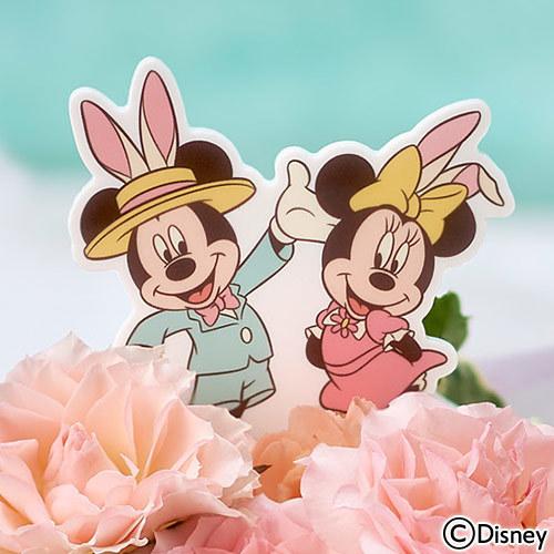 ディズニー アレンジメント「ミッキー&ミニー スプリング タイム」