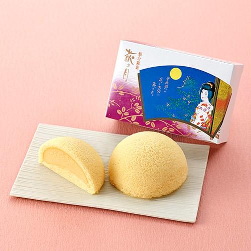 敬老の日 菓匠 三全「萩の月」とそのまま飾れるブーケのセット