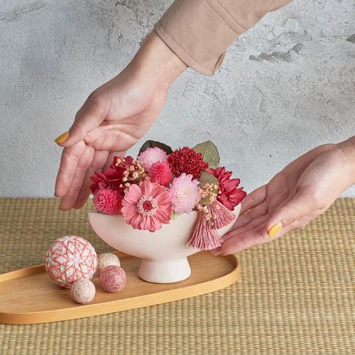 敬老の日 プリザーブド&アーティフィシャルアレンジメント「秋音」