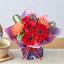 敬老の日 そのまま飾れるブーケ「花結び」