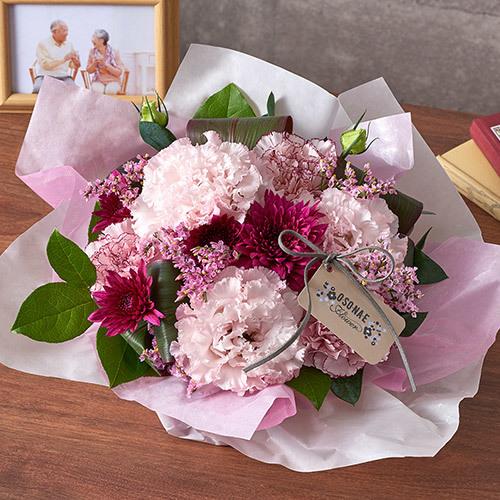 【日比谷花壇】【お供え用】O・SO・NA・E flower 「9月のオリジナルアレンジメント」