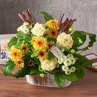 【お供え用】O・SO・NA・E flower「9月のウッドボックスアレンジメント」