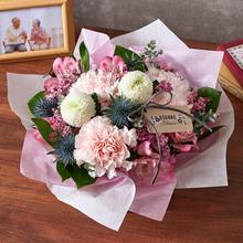 【お供え用】O・SO・NA・E flower「8月のオリジナルアレンジメント」
