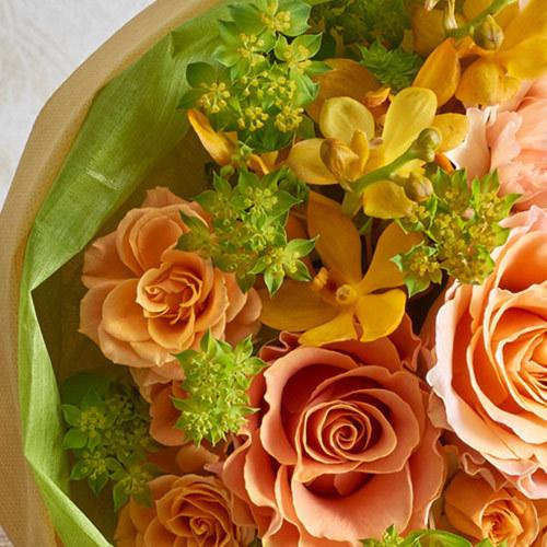 花束「8月の旬の花 ムートン」