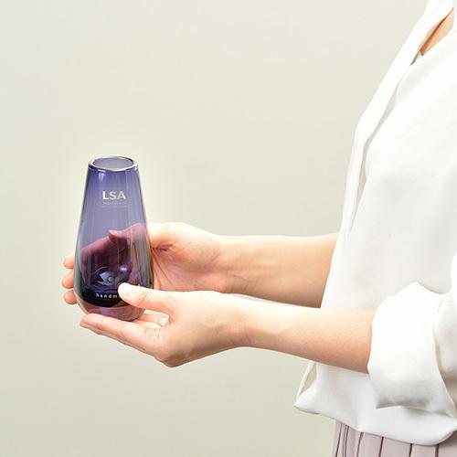 LSAフラワーベースFlower Colour Bud Vase Violet (LFC06紫)