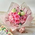 そのまま飾れるブーケ「9月に贈る花言葉」