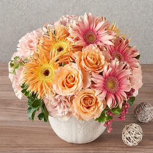 アレンジメント「10月の旬の花 ラトゥール」の商品画像