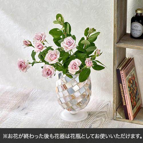 10月バースストーンアレンジメント「ピュアオパール」